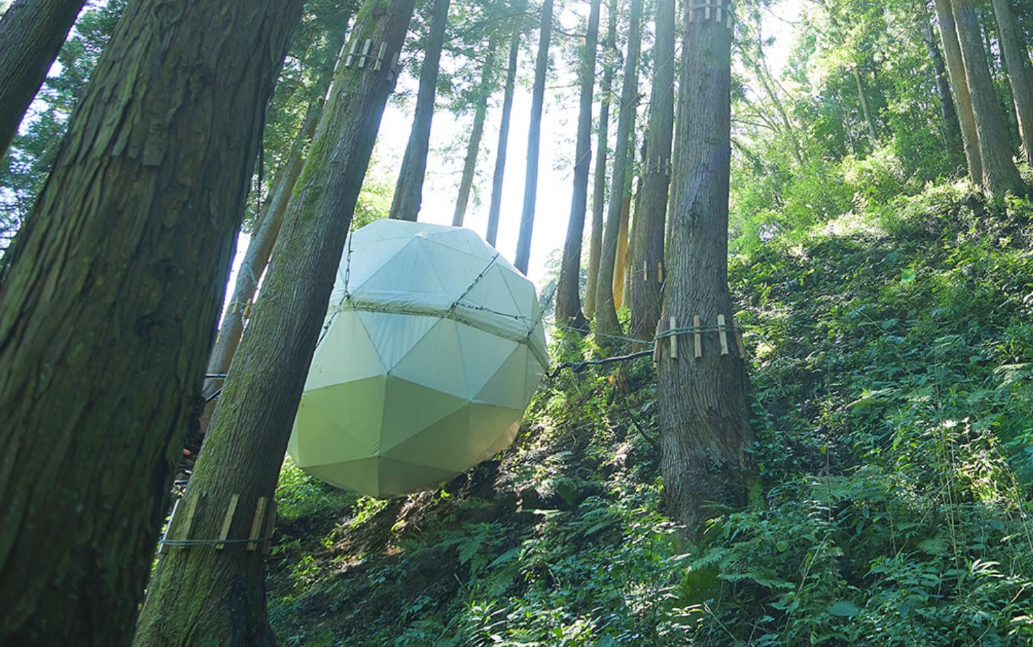 球体テント